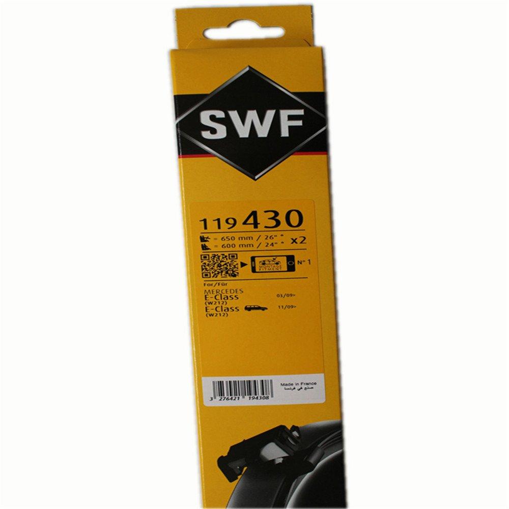 SWF 119430 Escobillas de Limpiaparabrisas: Amazon.es: Coche y moto