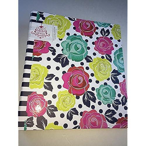 Good Pink Light Design Pink Chandelier Midnight Garden Collection 1.5 Inch  Binder Gallery