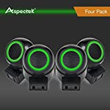 Aspectek™ Rotatable Ultrasonic Pest Control, Pest Repeller with Side Outlet and Adjustable Night Light - For Rodents, Rat, Mouse, Spider, Mosquito and Insect - Pack of 4