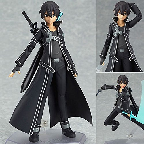 Sword Art Online Kirito Kazuto Kirito PVC Action Figure Figma Collectible Toys