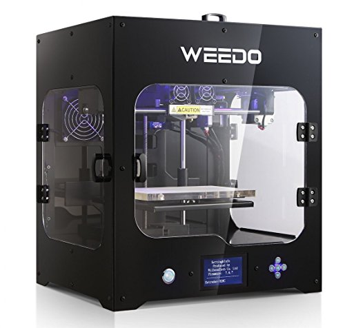 Weedo M2 Desktop 3D Printer  Metal Frame Professional High Resolution Stable   Single Extruder  Lcd Display Air Particle Filtration Module Popular In Industry And Education