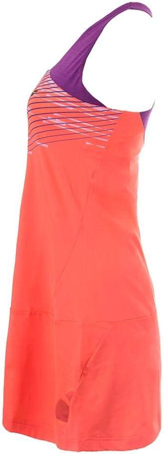 Fluo Red Babolat Girls Performance Racerback Dress