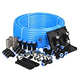 WYNNsky Compressed Air Tubing Piping System Master Kit,Workshop/Garage Complete Airline System. 3/8'' Pipe x 60 Feet