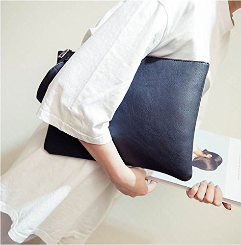 Aladin-Oversized-Clutch-Bag-Purse-Womens-Large-leather-Evening-Wristlet-Handbag