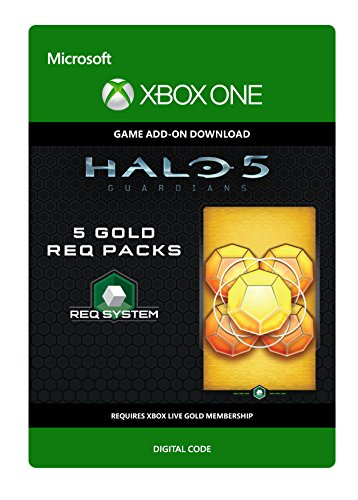 Halo 5: Guardians: 5 Gold REQ Packs - Xbox One Digital Code