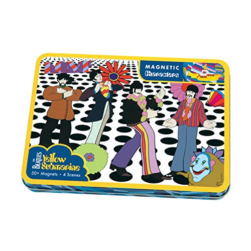 Mudpuppy The Beatles Yellow Submarine Magnetic Character Set by Mudpuppy