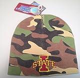NCAA Iowa State Camo Beanie Hat/Cap