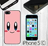 kirby phone case 5c - Cartoon Girl Cute Kirby LOL Custom made Case/Cover/Skin FOR iPhone 5C Color -Black- Rubber Case (Ship From CA)