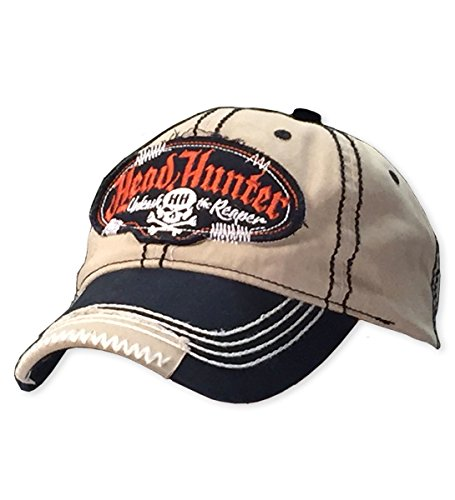 Bone Head Outfitters Head Hunter Patched Cap - Detailed Embroidery and Velcro Enclosure. ()