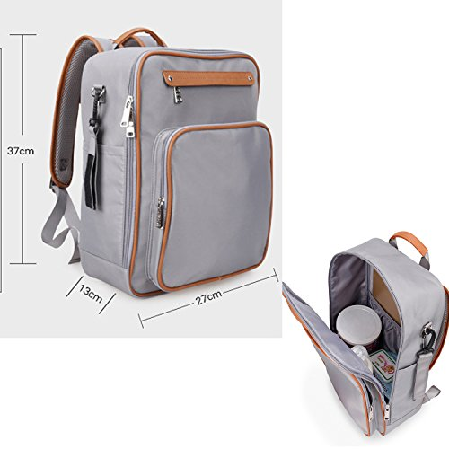BigForest Multifunction 4pcs in 1 set Baby Diaper Nappy Changing Bag Mummy Backpack Travel Bag Tote Handbag