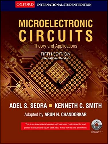 Ebook-1178] microelectronic circuits fifth edition solution manual.