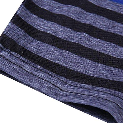 A Trasparente Nero Per Leey Allattamento Multifunzionale Seno Donna Strisce Maglia Gravidanza Manica Al Lunghe Con L'allattamento Lunga Sciolto Abito Maniche Materno Rxaf0
