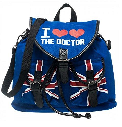 Doctor Who I Heart the Doctor Knapsack