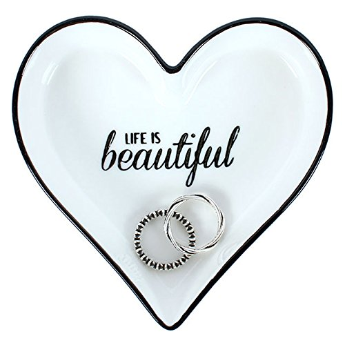 'Life is Beautiful' Jewellery/Trinket Dish Something Different