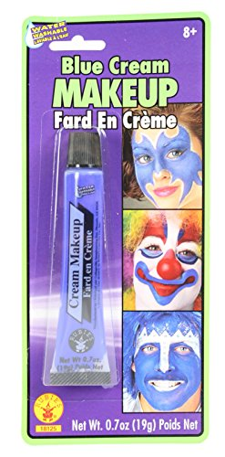 Cream Costume Makeup Face Body Paint Tube (Blue)