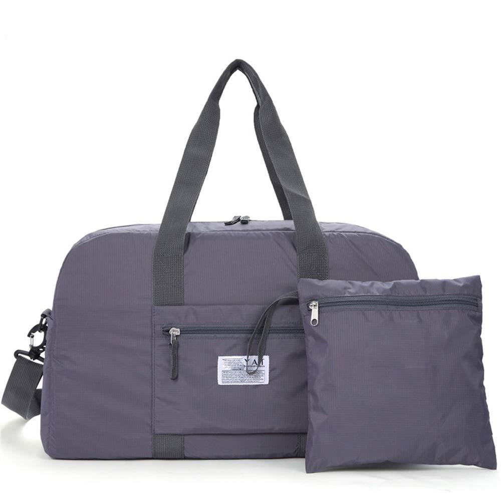 Ybriefbag Unisex Travel Bag Shoulder Diagonal Travel Bag Large Capacity Folding Bag Outdoor Travel Travel Bag Vacation