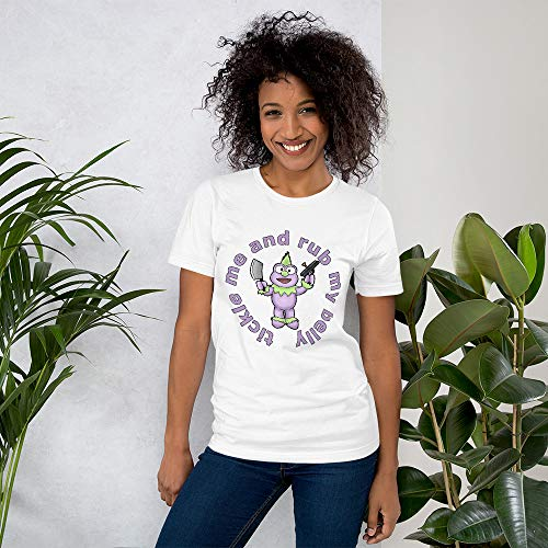 Mr McGibblets Funny Women's T-Shirt White
