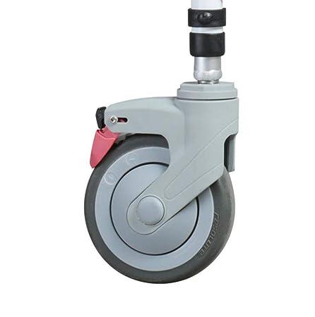 SXTYRL Silla de Ruedas Plegable Ligera Aluminio Andadores para ...