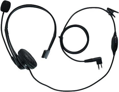 Acoustic Tube Ear-piece Mic Headset MOTOROLA CLS-1110 CLS-1410 CP200 GP-68 GP350