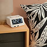 Digital Alarm Clock Charger with Dual USB Charging