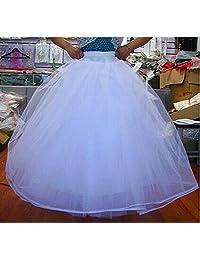 Eyekepper None Hoop 6 Layers Net Crinoline Petticoat Bridal Gown