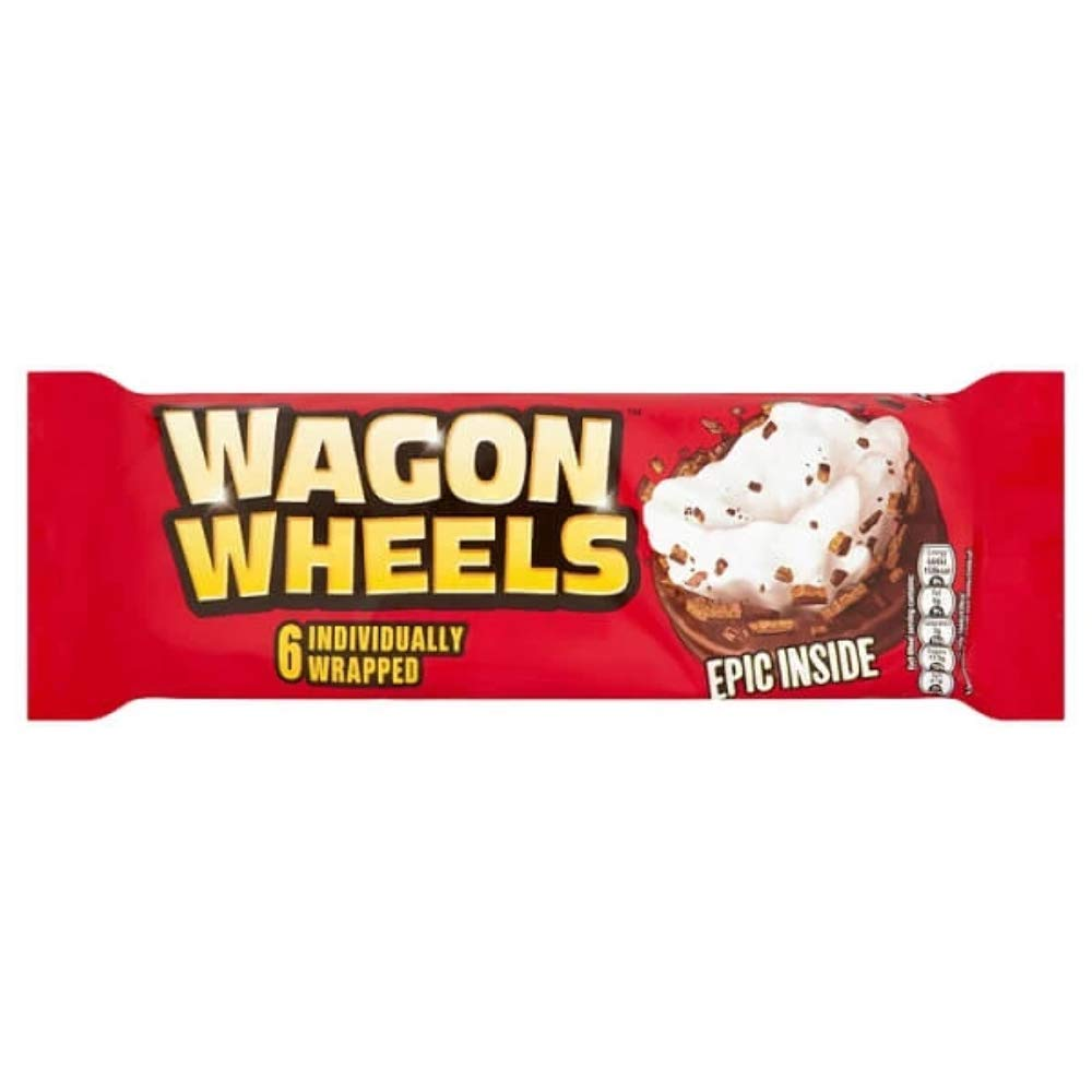 Burtons Wagon Wheels 220g (7.8oz)
