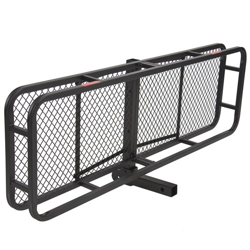 Best Choice Products Sky1658 60 Folding Cargo Carrier Luggage Rack Hauler Truck Or Car Hitch 2