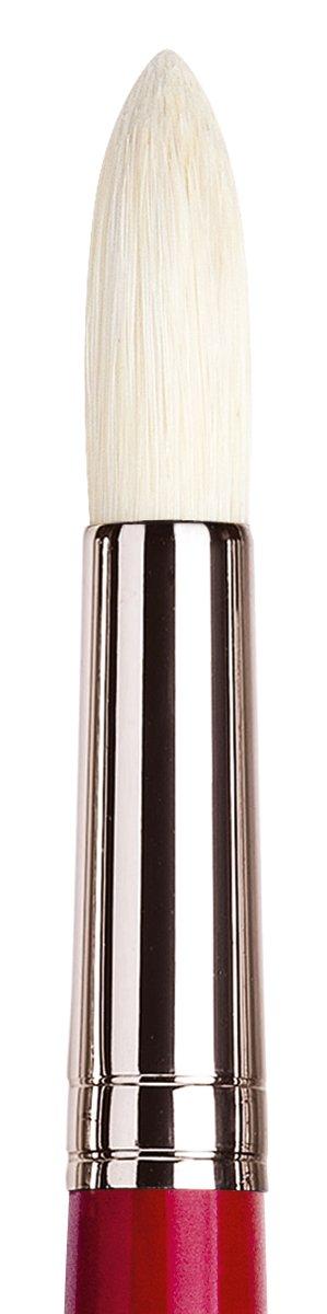 Round with European Sizing da Vinci Hog Bristle Series 7723 Maestro 2 Artist Paint Brush Size 24