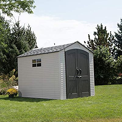 Lifetime-60252-Outdoor-Storage-Shed-Desert-Sand-7-x-95-ft