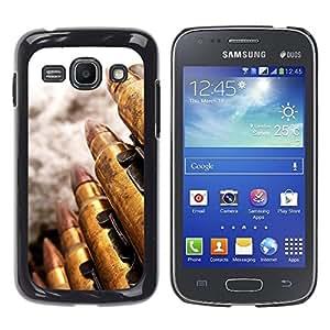 TopCaseStore / la caja del caucho duro de la cubierta de protección de la piel - Bullet - Samsung Galaxy Ace 3 GT-S7270 GT-S7275 GT-S7272