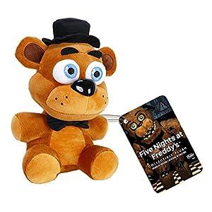 "Funko Five Nights at Freddy's Freddy Fazbear Plush, 6"" - 51QncKncPDL - Funko Five Nights at Freddy's Freddy Fazbear Plush, 6″"
