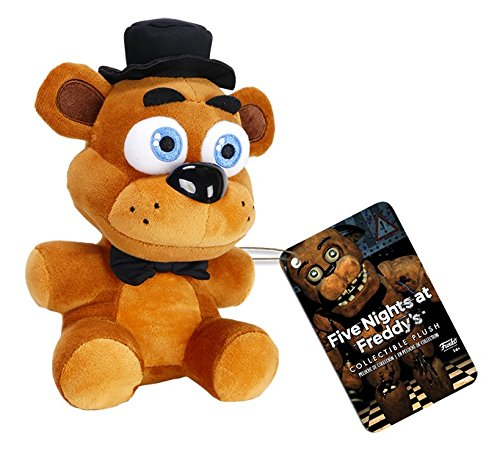 Five Nights at Freddy's Freddy Fazbear Plush, 6″