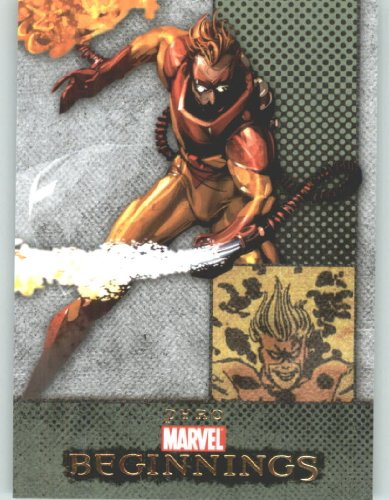 Marvel Beginnings #87 Pyro (Non-Sport Comic Trading Cards)(Upper Deck - 2011 Series 1) from Marvel