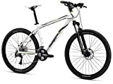 Mongoose TYAX Comp Men's Mountain Bike, White, 16″/Small Review