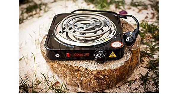 allshisha Hornillo eléctrico de 1000 W Oduman: Amazon.es ...