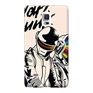 High Quality Hard Cell-phone Cases For Samsung Galaxy Note 4 (pWc6303SebH) Provide Private Custom Attractive Daft Punk Pattern