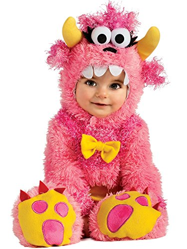 Rubie's Noah's Ark Pinky Winky Monster Romper Costume, Pink, 12-18 Months - Cookie Monster Costume Baby