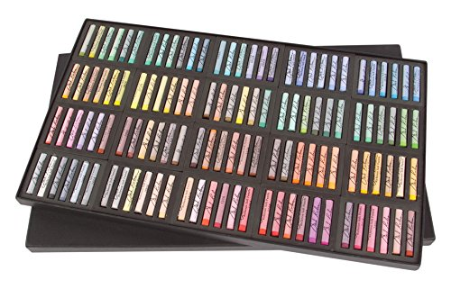 Jack Richeson 4291200 Richeson Signature Pastels Set of 120 Assorted Round Full Stick Pastels by Jack Richeson