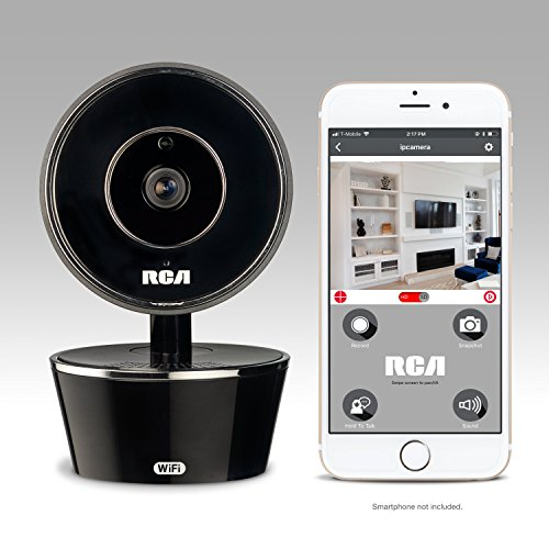 - RCA WiFi Video Camera Home Security System with Motion Detection, 2 Way Talk and Night Vision. Works w/iPhone, Samsung, LG, Google or Any Smartphone or Wireless Device