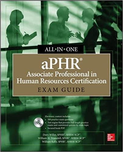 APHR Associate Professional In Human Resources Certification