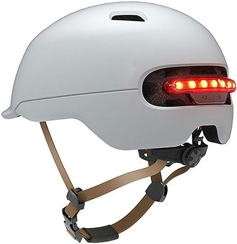 Grist CC Casco Bicicleta con la luz de la Seguridad, Casco de ...