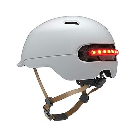 Grist CC Casco Bicicleta con la luz de la Seguridad, Casco ...