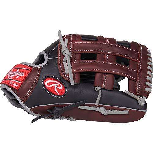 Rawlings R9 Baseball Glove, Black,