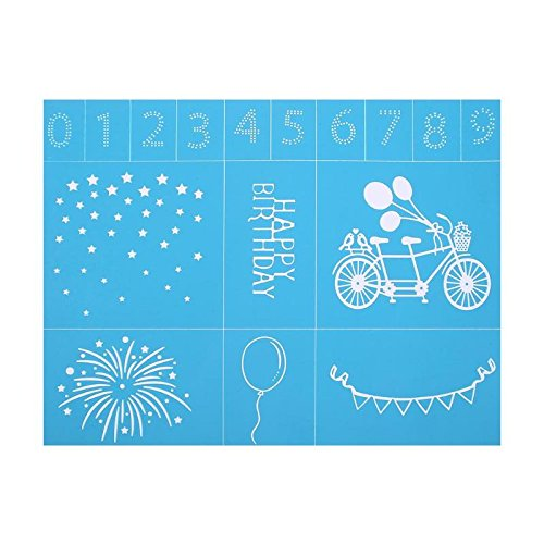 (Laz-Tipa - DIY Scrapbooking Stamping Stencils for Clothes Walls Painting Album Decorative Embossing Paper Card Template Silk Screen Sticker)