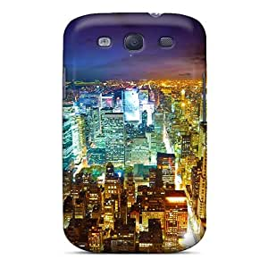 New Style Tpu S3 Protective Case Cover/ Galaxy Case - City Lights