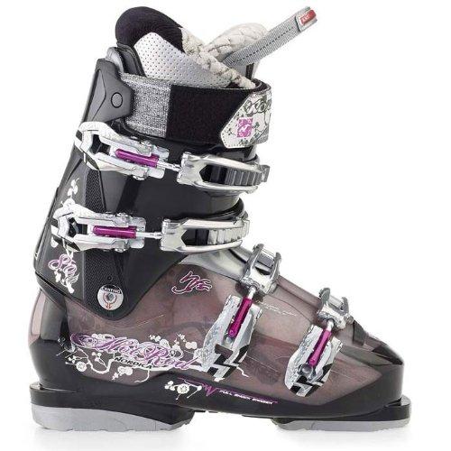 Nordica Hot Rod 8.0 W Ski Boots (2012)(Black, - Rod Nordica