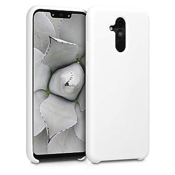 kwmobile Funda para Huawei Mate 20 Lite - Carcasa de TPU para teléfono móvil - Cover Trasero en Blanco Mate