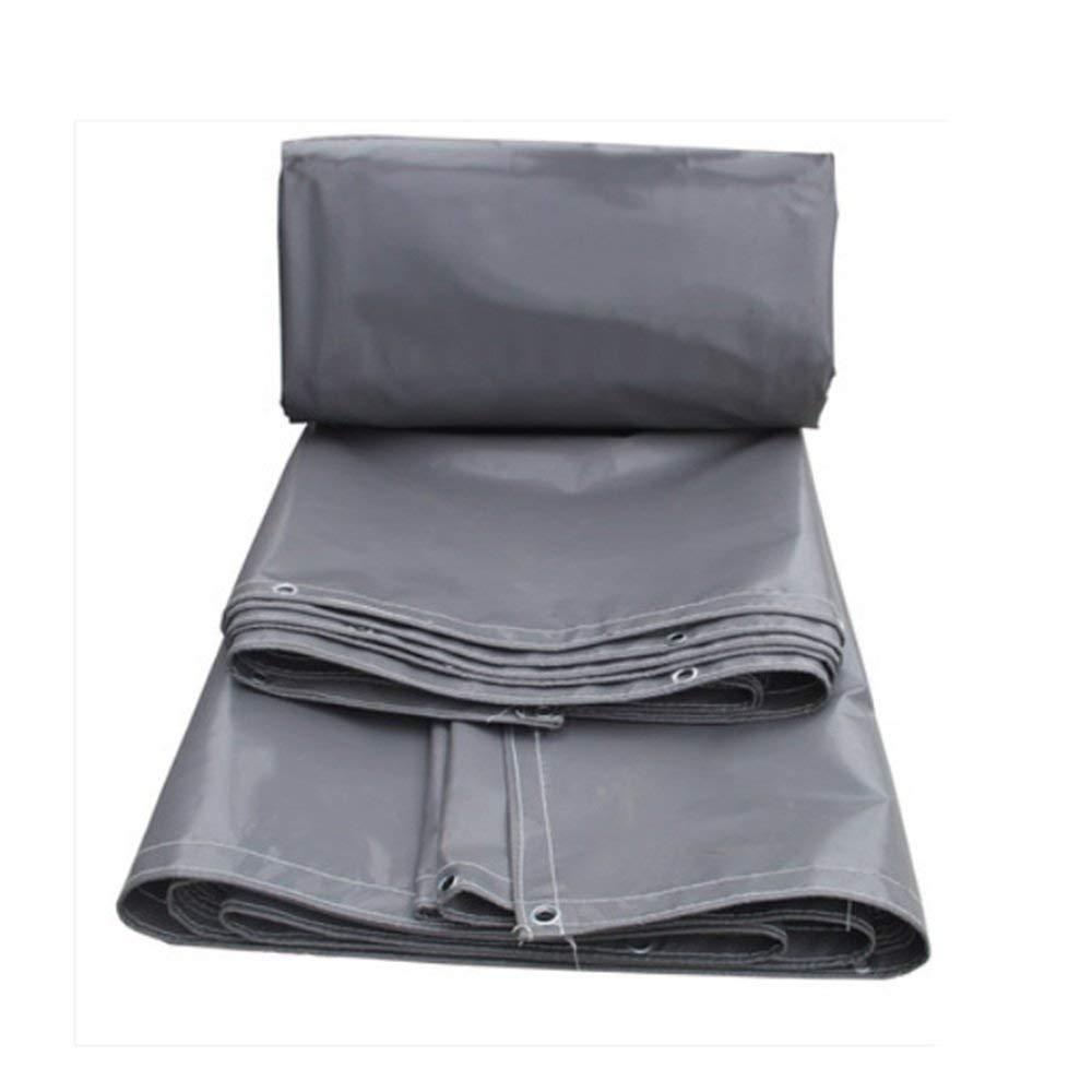 FERZA Home Home Home Outdoor-Zelt Plane Regensichere Sonnencreme Plane verdickt Oxford Tuch Zelt Tuch LKW Schuppen Tuch hohe Festigkeit Messer kratzen Tuch grau (Größe   4.5  4m) B07P55V17V Zelte Leitende Mode cde082
