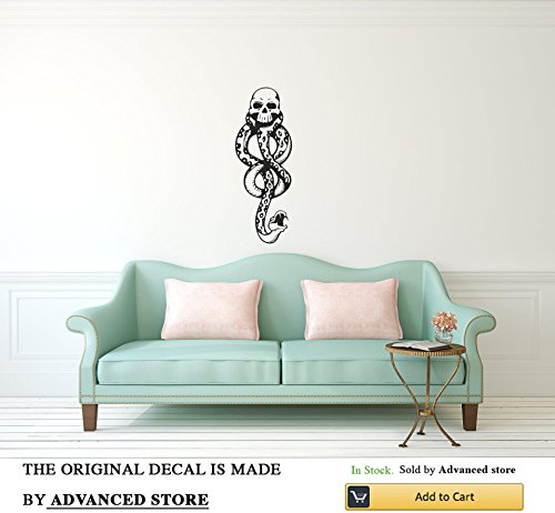 Advanced store Dark Mark Harry Potter Wall Decal HP Lord Voldemort Death Eaters Vinyl Decor Stickers Murals - Sticker Eater