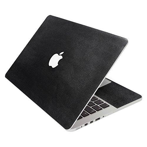 スペシャルオファ SkylerShield 4-in-1 Pro Protector 3M Leather Vinyl Keyboard Skin Decal Laptop Notebook Decals Sticker w/Black Keyboard Cover for Macbook Pro A1706 A1708 201613 with & w/o Touch Bar - Black Leather [並行輸入品] B0788HSJQL, フジカラープラザ宅配プリント:7db728ef --- svecha37.ru